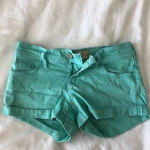Hollister low waisted shorts